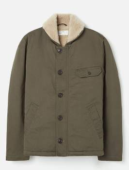 Universal Works Olive N1 Twill Jacket - olive | small - Olive