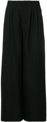 Lanvin Wide Flared Trousers