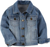 Carter's Toddler Girls Longsleeve Denim Jacket