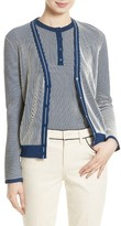 Tory Burch Women's Kara Stripe Cardigan