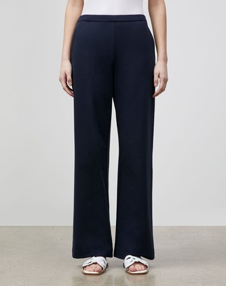 Lafayette 148 New York Plus-Size Webster Ankle Pant In Ultra Comfort French Terry