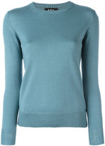 A.P.C. crew neck sweater - women - Silk/Merino - S