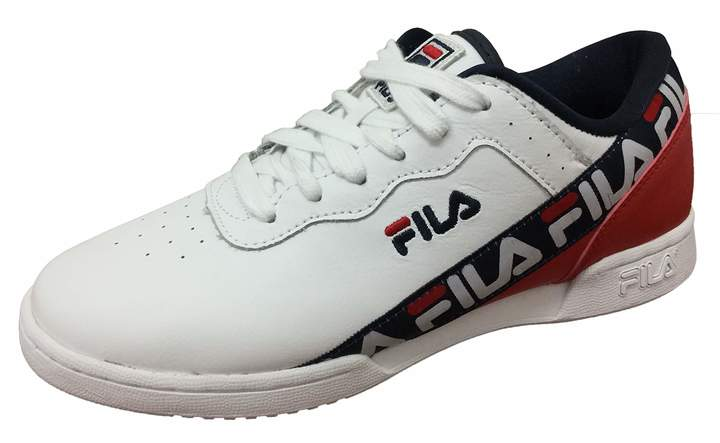 reputable site b4a34 5f172 Fila Blue Trainers For Women - ShopStyle Canada