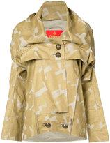 Vivienne Westwood melia raw edge jacket - women - Linen/Flax - 42
