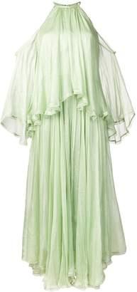 Maria Lucia Hohan off-shoulder draped dress