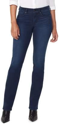 NYDJ Marilyn Cityscape Pocket Straight Jeans