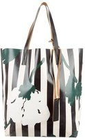 Marni Coated Canvas Shopping Tote
