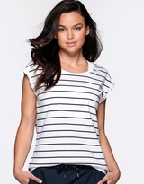 Lorna Jane Stripe Sensation T-Shirt