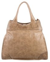Brunello Cucinelli Distressed Leather Tote