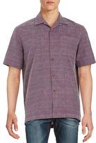 Tommy Bahama Textured Silk Sportshirt