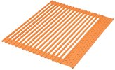 Ernest Round and round silicon draining S size (42 x 35cm) Orange A-75761 (japan import)