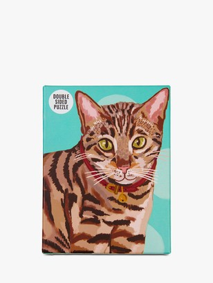 Talking Tables Bengal Cat Double Sided Jigsaw Puzzle