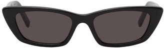 Saint Laurent Black Angular SL 277 Sunglasses