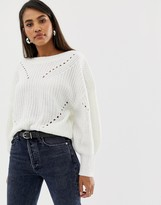 Vila balloon sleeve sweater