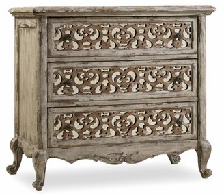 Hooker Furniture Chatelet Fretwork 3 Drawer Nightstand