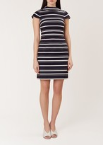 Hobbs Aleah Stripe Dress