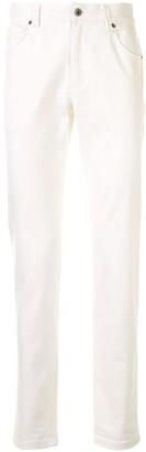 Durban White Chino Trousers