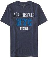 Aeropostale Mens Nyc 19-87 Graphic T-Shirt Xs