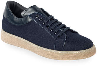 Jared Lang Napoli Low-Top Court Sneakers