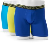 Jockey Men's 3-Pack Active Microfiber Midway Briefs
