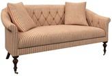 Annie Selke Home Becket Loveseat Upholstery: Adams Ticking Brick