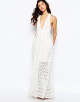 The Jetset Diaries Tuscani Maxi Dress in Ivory