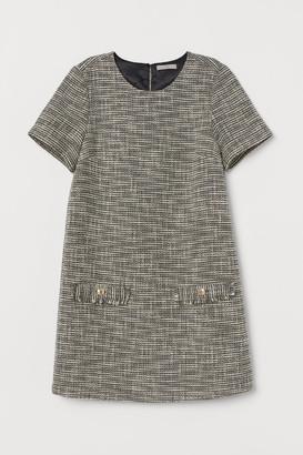 H&M Textured-weave dress