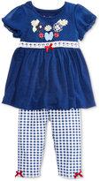 Nannette 2-Pc. Tunic & Gingham Leggings Set, Toddler & Little Girls (2T-6X)