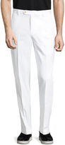 Brooks Brothers Men's Flat Front Milano Chino