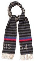 Louis Vuitton Trunk Stripe Scarf