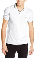 HUGO BOSS BOSS Orange Men's Pascha Slim Fit Salt wash Pique Polo Shirt