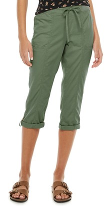 So Juniors' Low Rise Soft Capri Pants