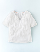 Boden Alice Embroidered Top