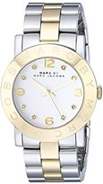 Marc by Marc Jacobs Women's MBM3139 Amy Rose-Tone Stainless Steel Watch with Link Bracelet