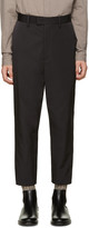 Robert Geller Black Sean Trousers