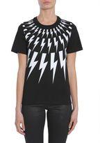 Neil Barrett Thunderbolts Printed T-shirt