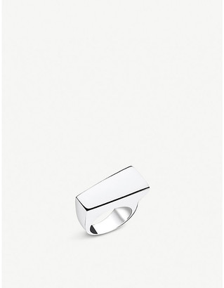 Thomas Sabo Heritage Bar sterling silver chunky ring