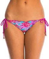 Sofia Del Mar Ripple Tie Side Bikini Bottom 8140417