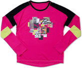 Puma Long-Sleeve Piecing Top - Girls 7-16