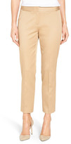 Nordstrom Sateen Twill Ankle Pants