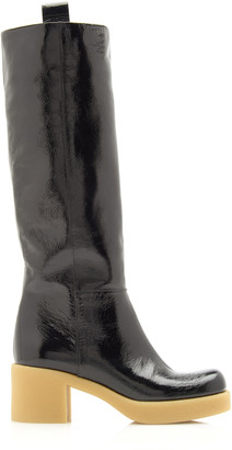 Miu Miu Patent Leather Knee Boots