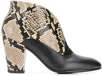 Chie Mihara Elgi snakeskin boots