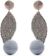 REBECCA DE RAVENEL Cherry Oh Baby drop earrings