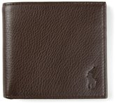 Polo Ralph Lauren small embossed logo wallet - men - Leather/Polyester - One Size