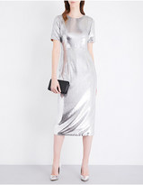 Diane von Furstenberg Tailored sequinned midi dress