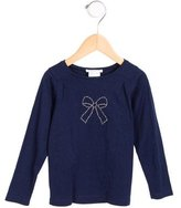 Jacadi Girls' Embellished Long Sleeve Top