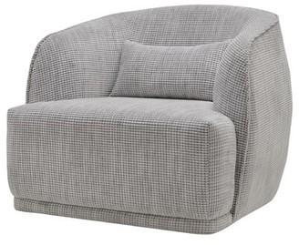 Lytchett Fabric Barrel Chair Longshore Tides
