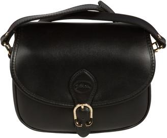 Longchamp Long Strap Flap Shoulder Bag