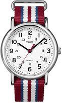 Timex Men's Weekender Multi-Coloured Nylon Strap Watch