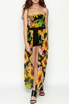 Freesia Strapless Romper Dress